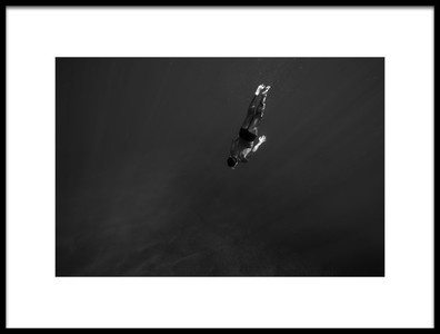 Buy this art print titled FreeDiver by the artist Assaf Gavra