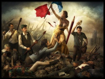 Buy this art print titled Freedom of Speech by the artist Christophe Kiciak