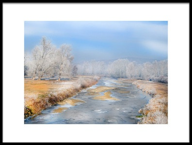Art print titled Frozen by the artist Cristian Andreescu