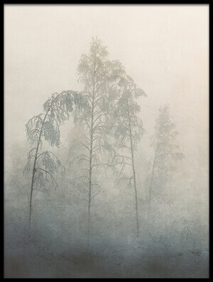Buy this art print titled Frozen Forest by the artist Åsmund Kværnstrøm