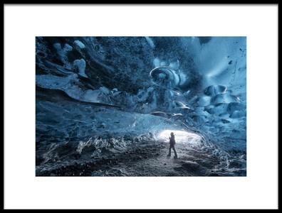 Art print titled Frozen Ocean by the artist Rafal Nebelski