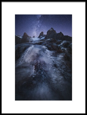 Art print titled Frozen Time by the artist Chris Kaddas