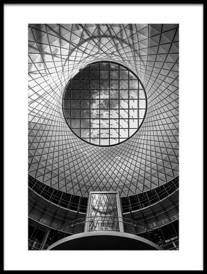 Art print titled Fulton Center #01 by the artist Alessio Forlano