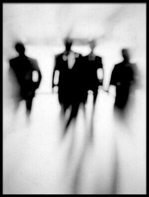 Buy this art print titled Fuzzy Men by the artist abi Danial