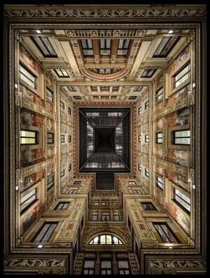 Buy this art print titled Galleria Sciarra by the artist Renate Reichert