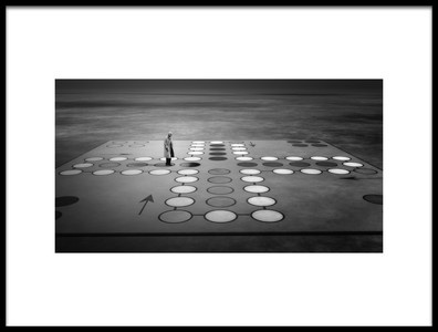 Art print titled Game Over by the artist Esther Margraff