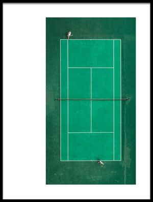 Buy this art print titled Game! Set! Match! by the artist fegari