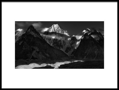 Art print titled Gasherbrum Mountain by the artist FEI SHI