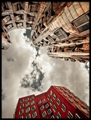 Buy this art print titled Gehry by the artist Frank Waechter