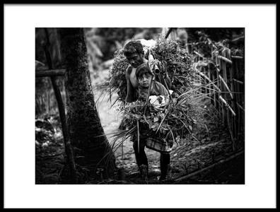 Buy this art print titled Gendong Anak by the artist Adhi Prayoga