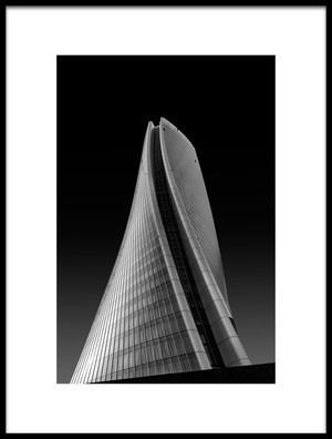 Art print titled Generali Skyscraper by the artist Luca