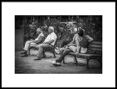 Art print titled Generations by the artist Shuki Laufer