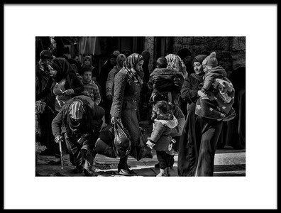 Art print titled Generations by the artist Fadwa Rouhana