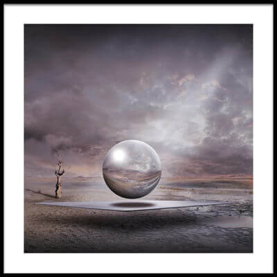 Art print titled Genesis by the artist Franziskus Pfleghart