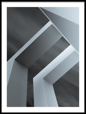Buy this art print titled Geometrix I by the artist Luc Vangindertael (laGrange)