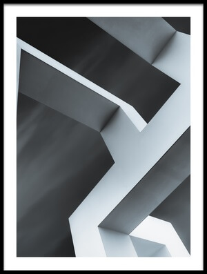 Buy this art print titled Geometrix III by the artist Luc Vangindertael (laGrange)