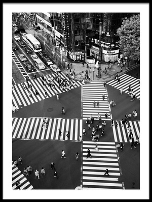Buy this art print titled Ginza by the artist Shigehiro Ono