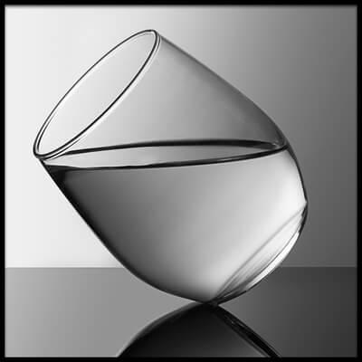 Art print titled Glass by the artist Naoki Matsumura