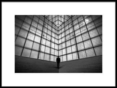 Art print titled Glass by the artist Kaz Narumi