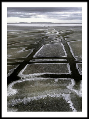 Art print titled Glistening Road by the artist Tina Kim