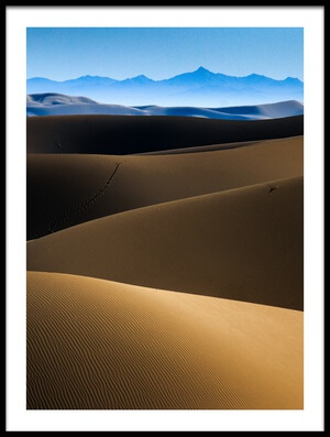 Buy this art print titled Gloomy Desert by the artist Babak Mehrafshar (Bob)