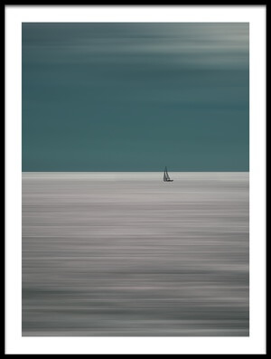 Buy this art print titled Going for the Horizon by the artist Bernardine de Laat