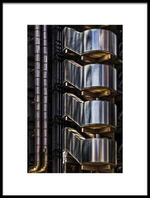 Art print titled Gold Amp Silver by the artist Eric Mattheyses