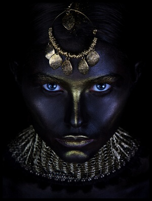 Art print titled Gold of Maya by the artist Ivan Kovalev