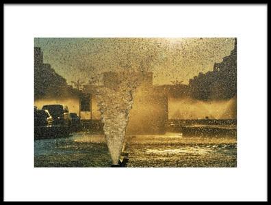 Art print titled Golden Hour by the artist Vlad Eftenie