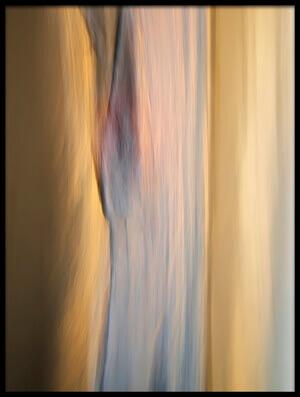 Art print titled Golden Lights by the artist Santiago Pascual Buye
