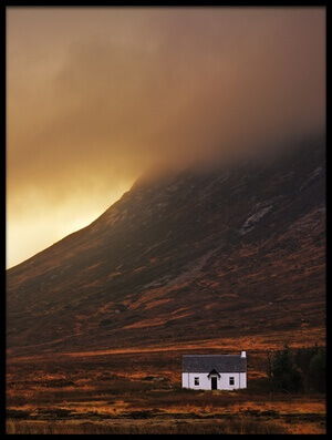 Buy this art print titled Good Morning Glencoe by the artist Milos Lach