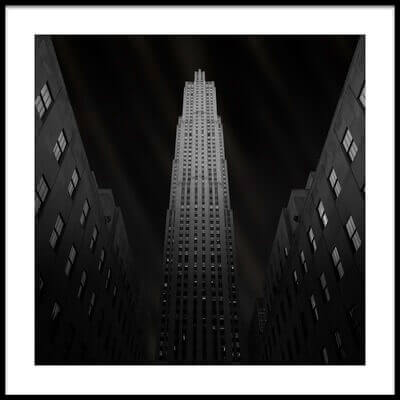 Buy this art print titled Gotham by the artist Ben Rea