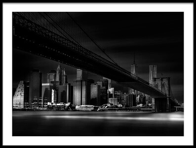 Art print titled Gotham City by the artist Peter Futo