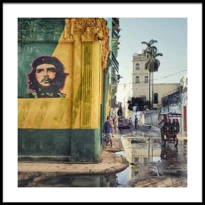 Buy this art print titled Grafitti  (La Habana Vieja) by the artist Roxana Labagnara