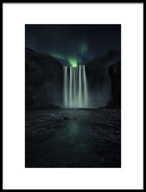 Buy this art print titled Green Night by the artist Jorge Ruiz Dueso