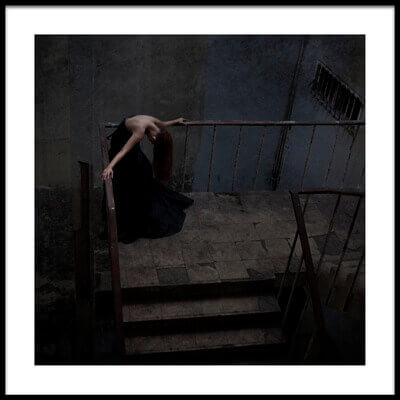 Buy this art print titled Grief In Solitude by the artist Joey Bangun