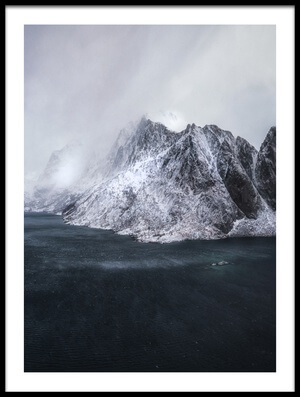 Buy this art print titled Guardian of Lofoten II by the artist Stan Huang