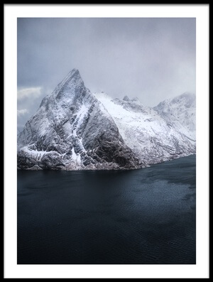 Buy this art print titled Guardian of Lofoten III by the artist Stan Huang
