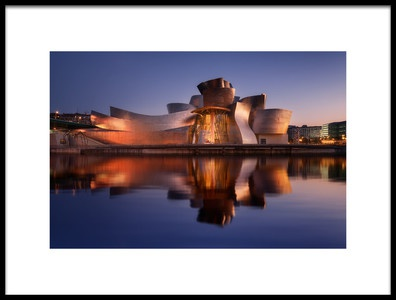 Art print titled Guggenheim by the artist Iván Ferrero