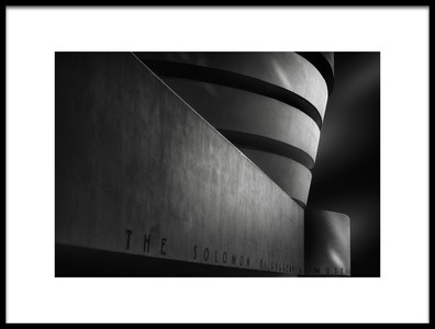 Buy this art print titled Guggenheim, NY by the artist Jorge Ruiz Dueso