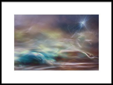 Art print titled Guiding Light by the artist Willy Marthinussen