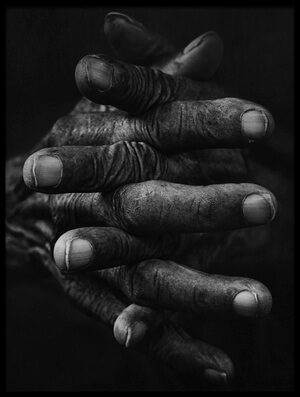 Buy this art print titled Hand and Memories by the artist djeff act