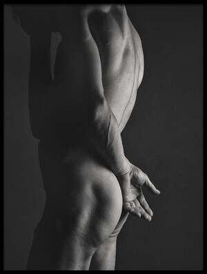 Art print titled Hands Series by the artist J Thomas Simpson