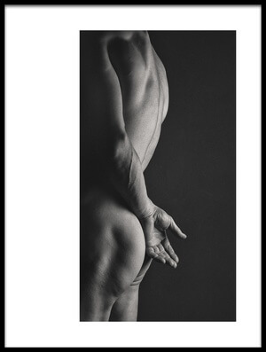 Art print titled Hands Series II by the artist J Thomas Simpson