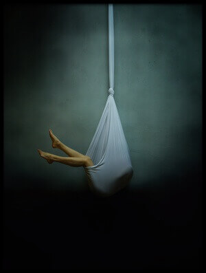 Art print titled Hang by the artist Yaroslav Vasiliev-Apostol