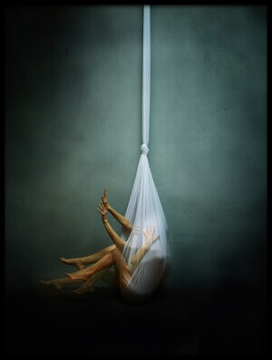 Art print titled Hang II by the artist Yaroslav Vasiliev-Apostol