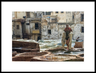 Art print titled Hard by the artist Andrei Nicolas - The Traveler