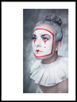 Buy this art print titled Harlequin by the artist Michal Magdziak