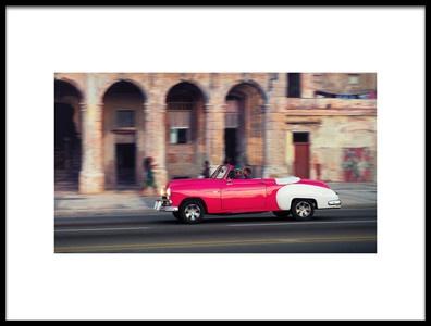 Art print titled Havana   Sunset   Joy  by the artist Alper Uke
