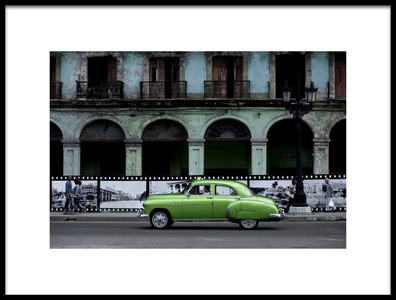 Art print titled Havana  Frames by the artist Alper Uke